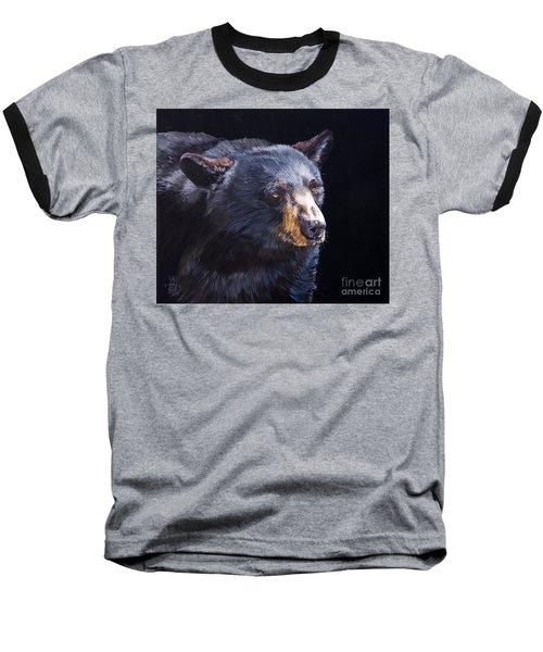 Back In Black Bear Baseball T-Shirt
