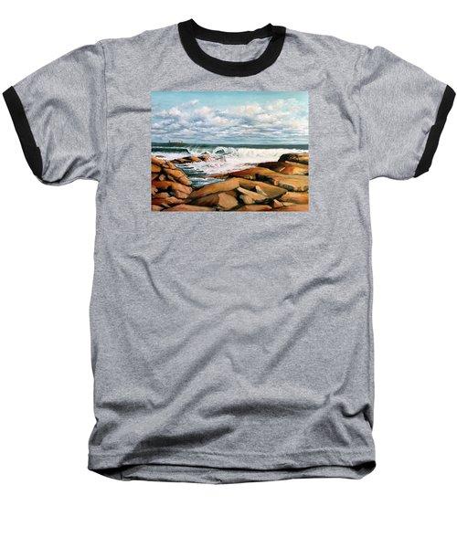 Back Shore Gloucester Baseball T-Shirt by Eileen Patten Oliver