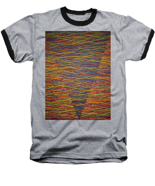 Back To Heaven 1 Baseball T-Shirt by Kyung Hee Hogg