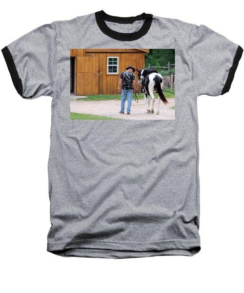 Back To The Barn Baseball T-Shirt