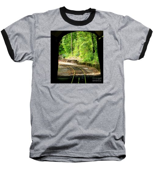 Baseball T-Shirt featuring the photograph Back Tracking by Joy Hardee
