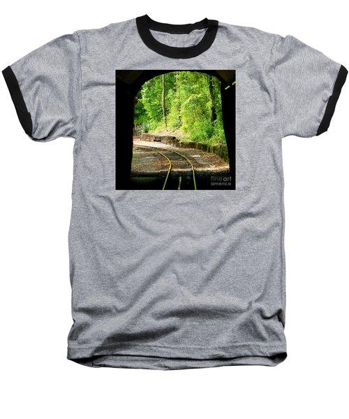 Back Tracking Baseball T-Shirt