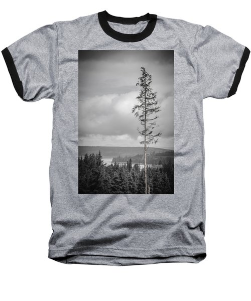 Tall Tree View Baseball T-Shirt