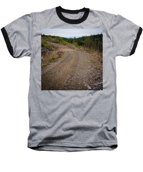 4x4 Logging Road To Adventure Baseball T-Shirt