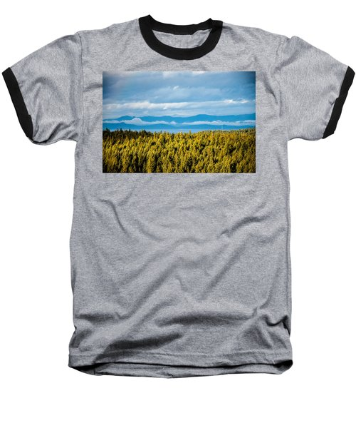 Backroad Ocean View Baseball T-Shirt