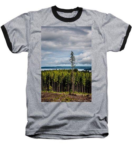 Logging Road Ocean View  Baseball T-Shirt