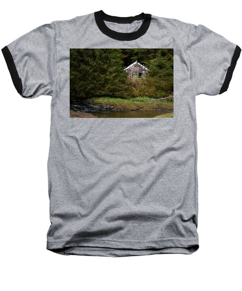 Backwoods Shack Baseball T-Shirt