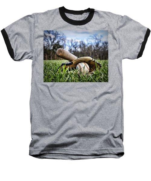 Backyard Baseball Memories Baseball T-Shirt