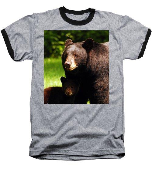 Backyard Bears Baseball T-Shirt by Lori Tambakis