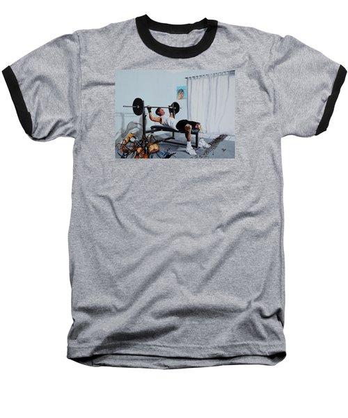 Bad Dream Baseball T-Shirt by Raymond Perez
