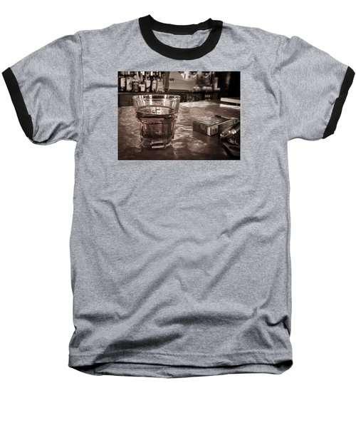Baseball T-Shirt featuring the photograph Bad Habits by Tim Stanley