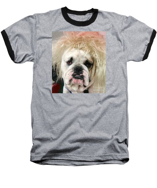 Bad Hair Day Baseball T-Shirt