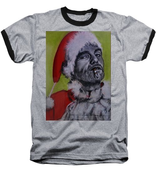 Bad Santa Baseball T-Shirt