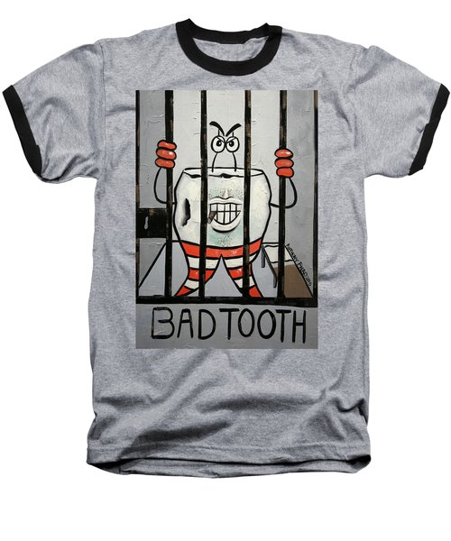 Bad Tooth Baseball T-Shirt
