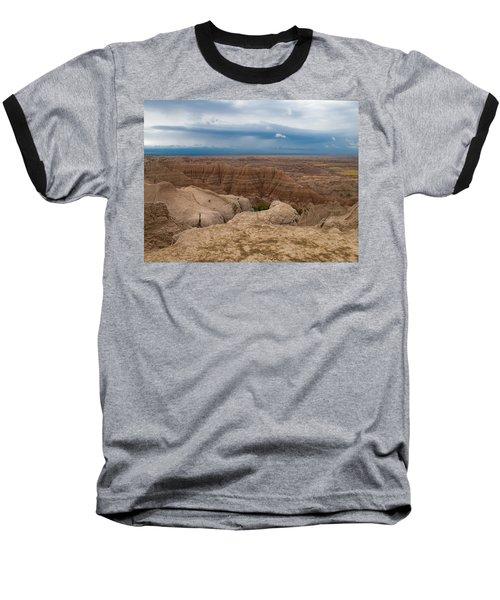 Badlands South Dakota Baseball T-Shirt by Don Spenner