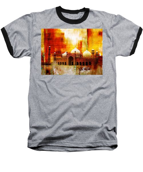 Badshahi Mosque Or The Royal Mosque Baseball T-Shirt by Catf