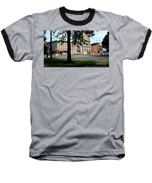 Baseball T-Shirt featuring the photograph Bagg's Square West by Peter Gumaer Ogden