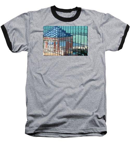 Bahamas Beach Pavilion Baseball T-Shirt