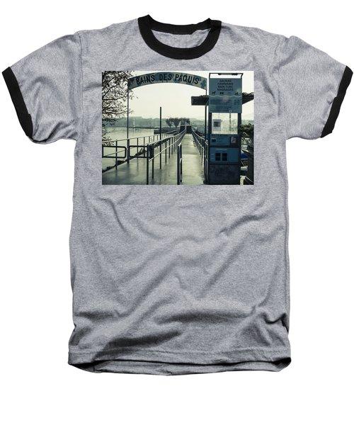 Bains Des Paquis Baseball T-Shirt
