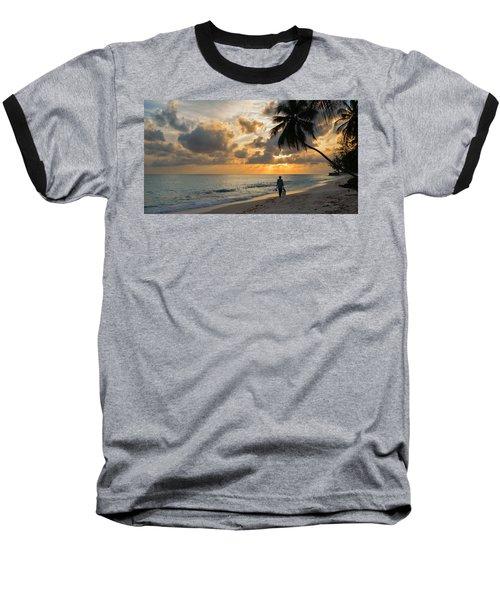 Bajan Fisherman Baseball T-Shirt