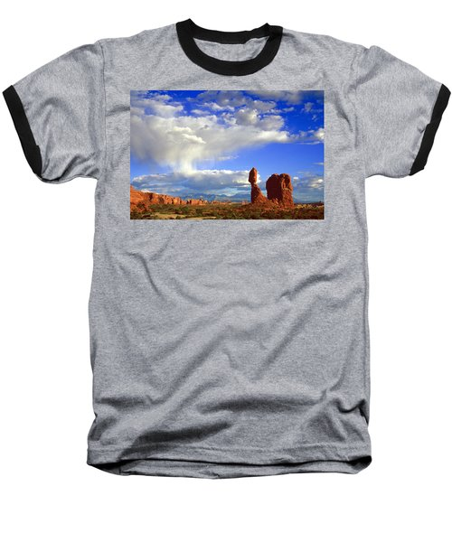 Balanced Rock Baseball T-Shirt
