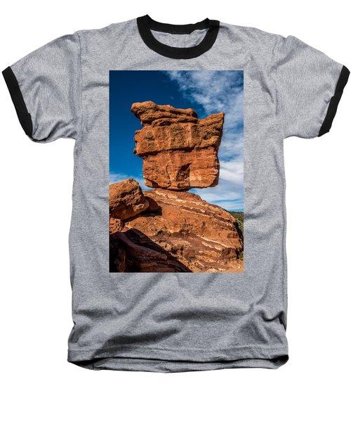 Balanced Rock Garden Of The Gods Baseball T-Shirt