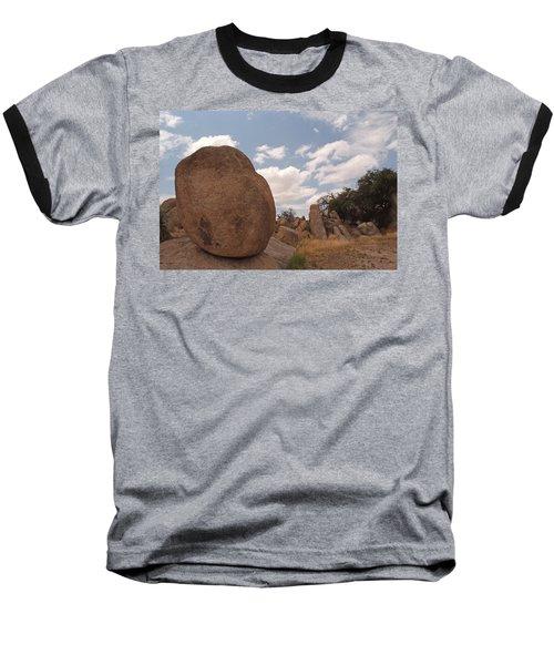 Balanced Rock Baseball T-Shirt
