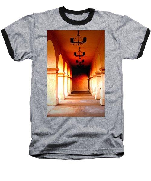 Balboa Park At Sunrise Xl Baseball T-Shirt