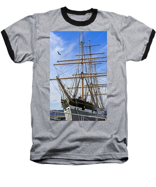 Baseball T-Shirt featuring the photograph Balclutha by Kate Brown