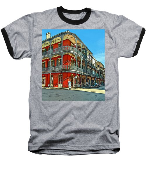 Balconies Painted Baseball T-Shirt