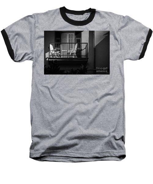 Balcony Bathed In Sunlight Baseball T-Shirt