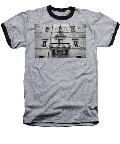 Balcony In Assisi Baseball T-Shirt