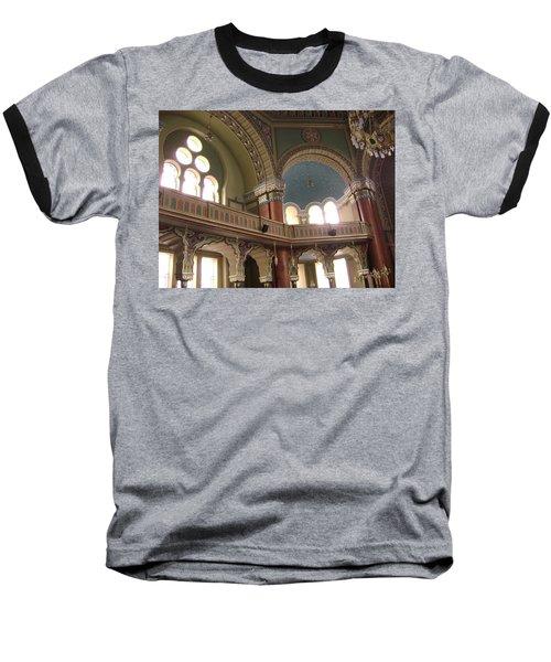 Balcony Of Sofia Synagogue Baseball T-Shirt
