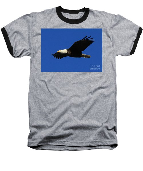 Bald Eagle Lock 14 Baseball T-Shirt