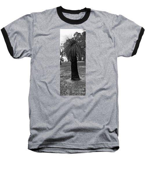 Baseball T-Shirt featuring the photograph Balga Tree by Cassandra Buckley