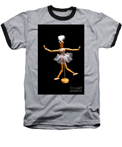 Ballet Act 2 Baseball T-Shirt by Tamyra Crossley