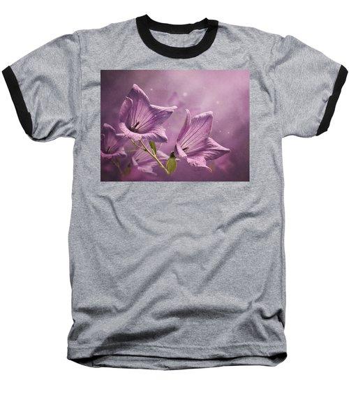 Balloon Flowers Baseball T-Shirt
