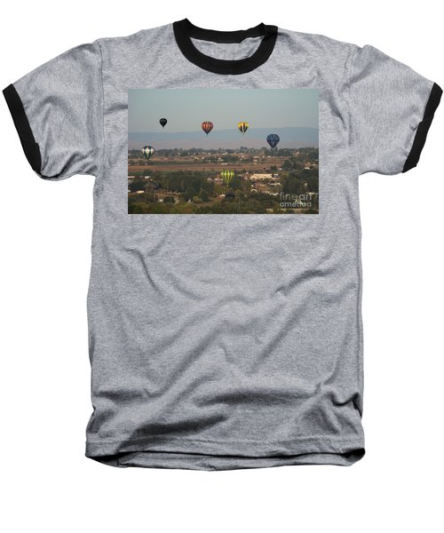 Balloons Over The Valley Baseball T-Shirt