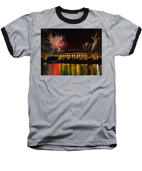 Ballpark Fireworks Baseball T-Shirt