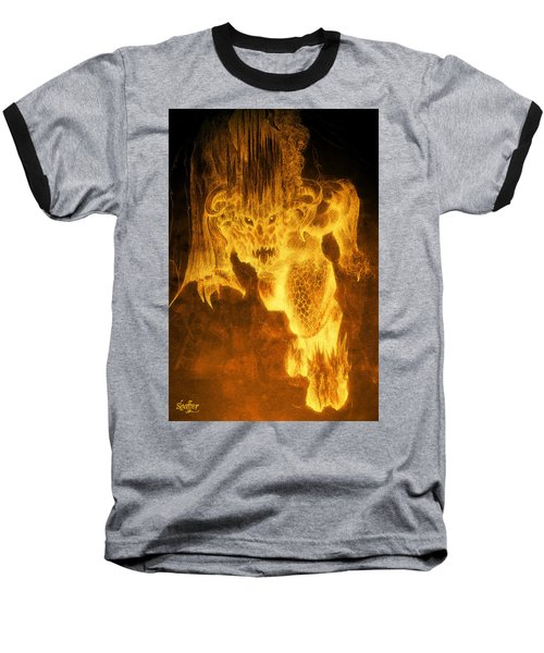 Balrog Of Morgoth Baseball T-Shirt