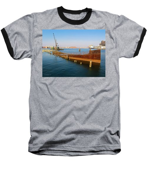 Baseball T-Shirt featuring the photograph Baltimore Museum Of Industry by Brian Wallace