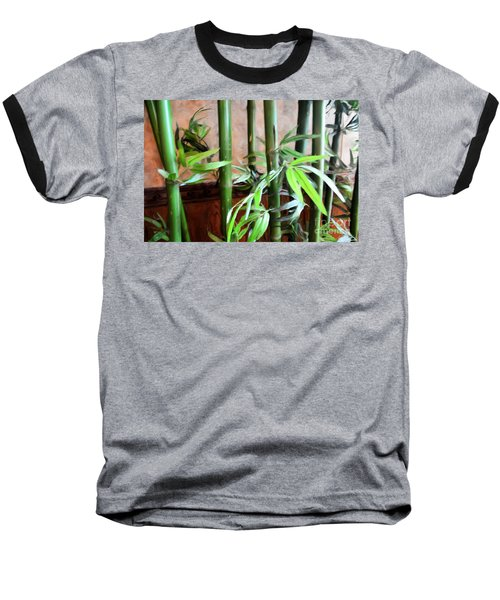Baseball T-Shirt featuring the photograph Plant -  Bamboo  -  Luther Fine Art by Luther Fine Art