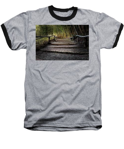 Bamboo Garden Baseball T-Shirt