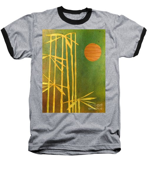 Bamboo Moon Baseball T-Shirt