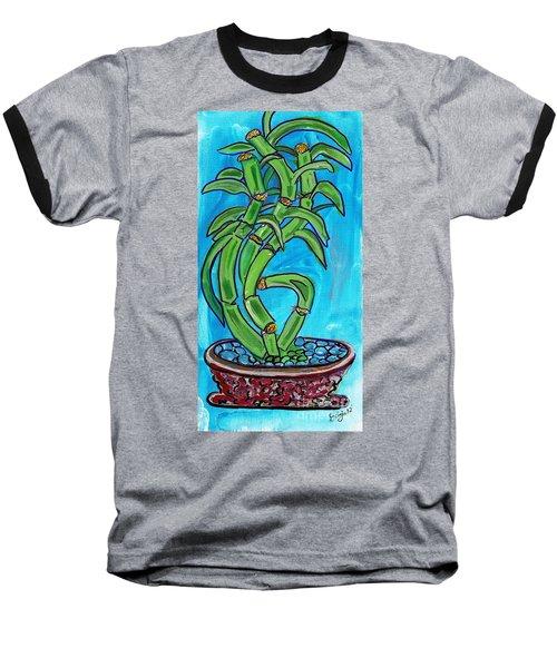 Bamboo Twist Baseball T-Shirt