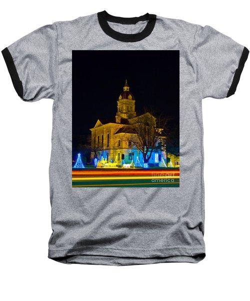 Bandera County Courthouse Baseball T-Shirt