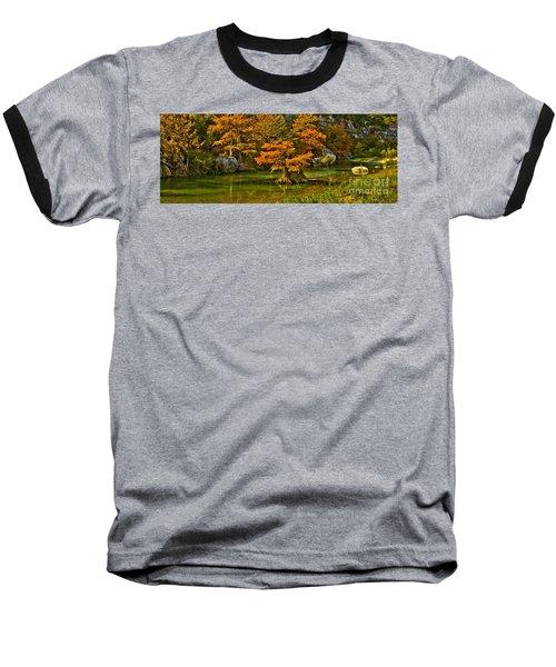 Bandera Falls On Medina River Baseball T-Shirt