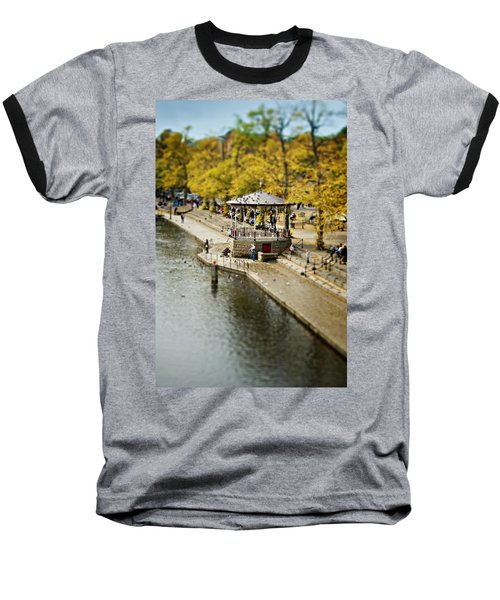 Baseball T-Shirt featuring the photograph Bandstand In Chester by Meirion Matthias