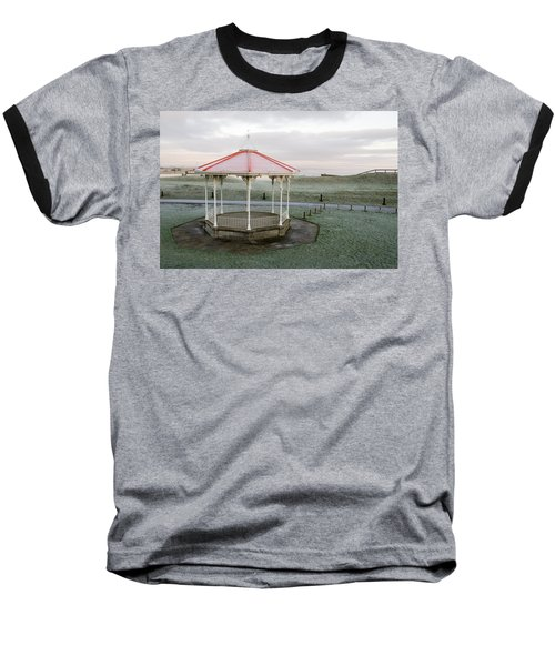 Bandstand In Winter Baseball T-Shirt by Jeremy Voisey