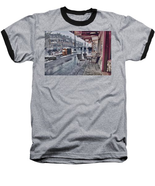 Banff Avenue Baseball T-Shirt